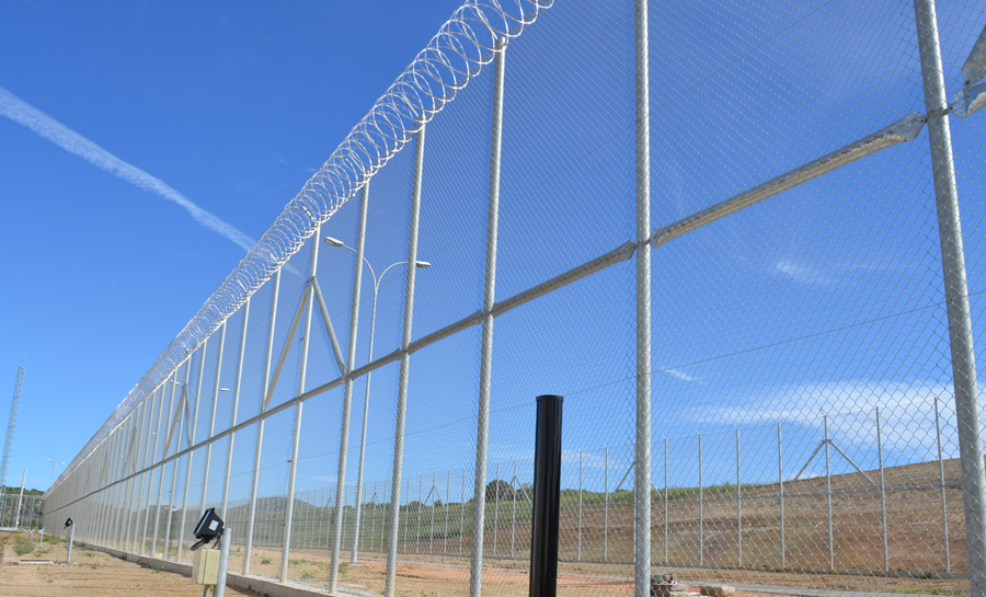 concertina centro penitenciario